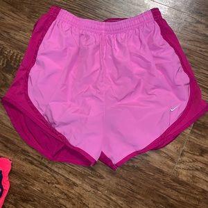 2 tone pink nike shorts